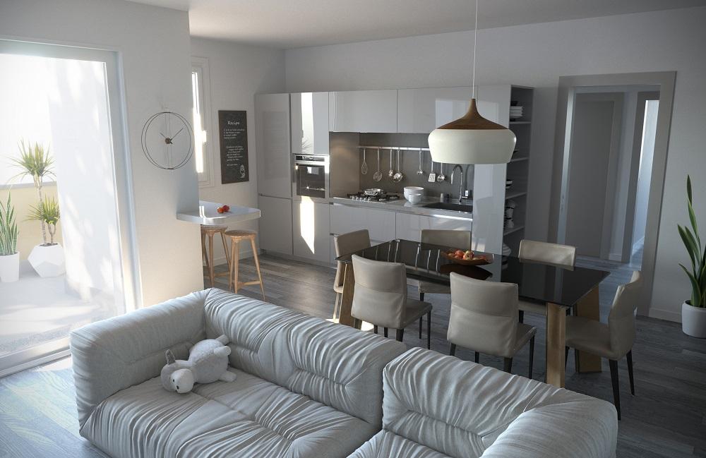 cucina appartamento 12