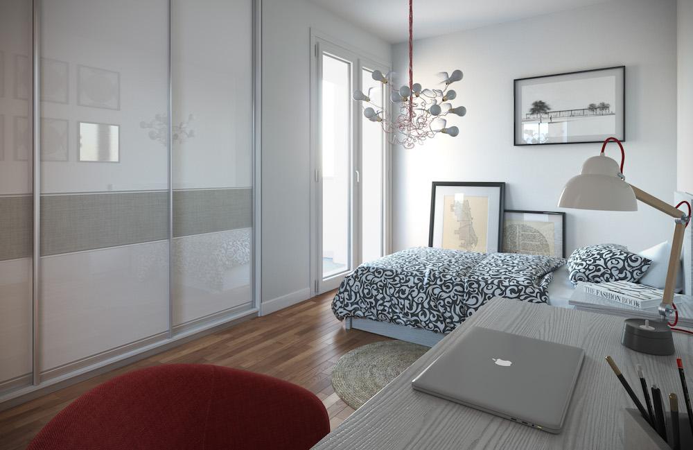 cameretta appartamento tipo B