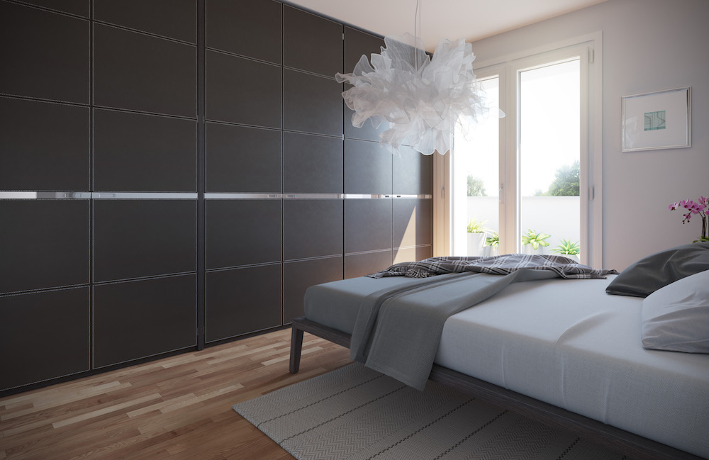 camera da letto appartamento tipo B