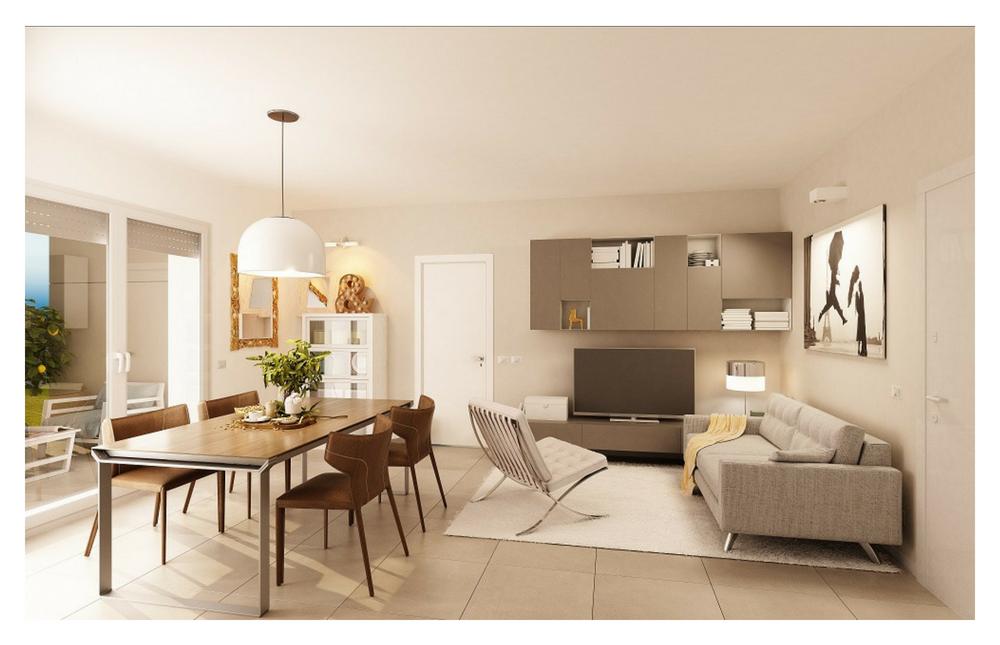 Edificio A  Appartamento 5-9-13 Living