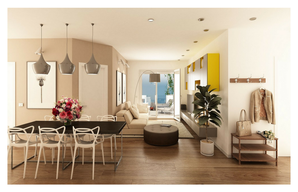 Edificio A Appartamento 14 Living