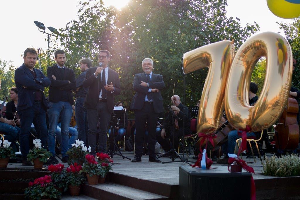 70° anniversario Ansaloni a Villa Angeletti