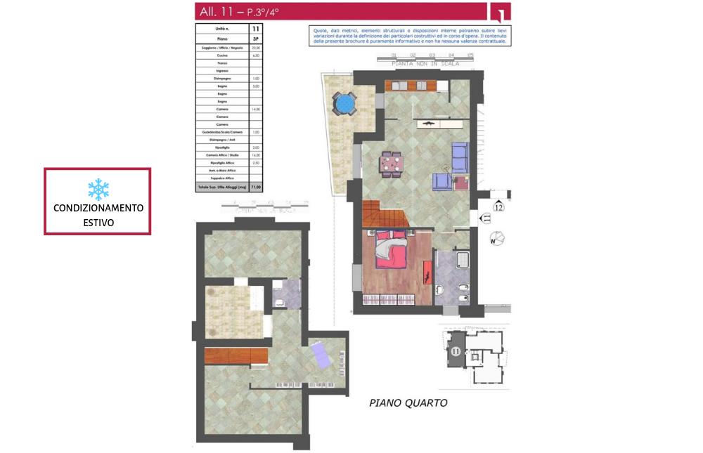 pianta appartamento 11