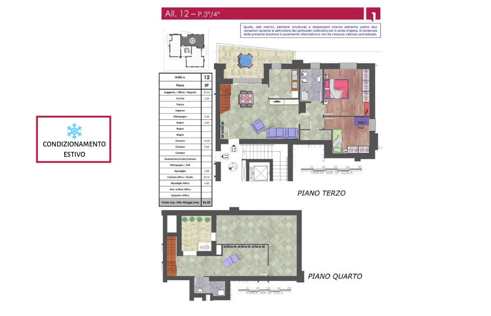 pianta appartamento 12