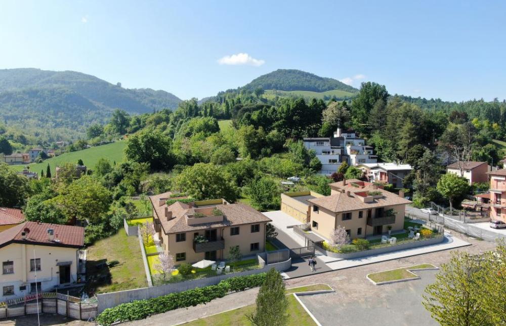 vista villaggio dall'alto