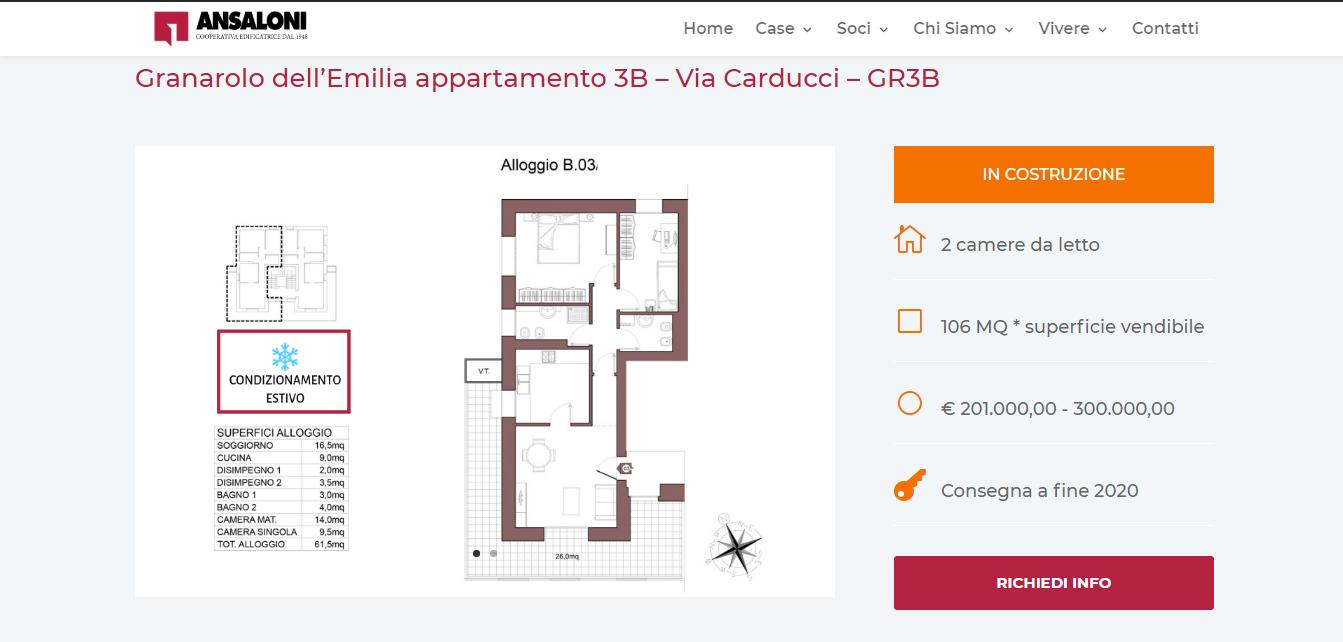 mappa singolo alloggio