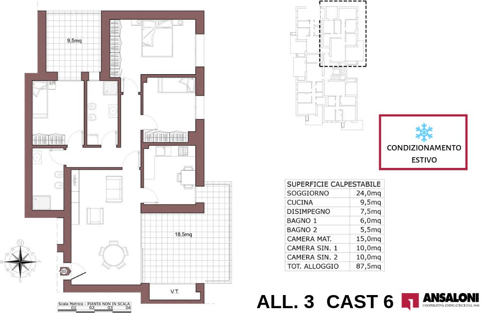 Castenaso appartamento 3 – tra Via Majorana e via Fermi – CAST 6