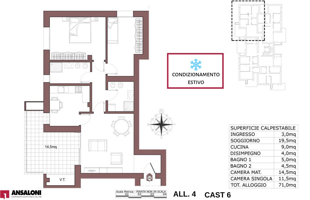 Castenaso appartamento 4 – tra Via Majorana e via Fermi – CAST 6