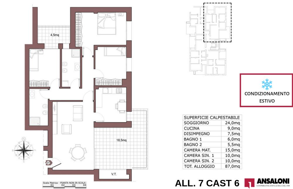 Castenaso appartamento 7 – tra Via Majorana e via Fermi – CAST 6