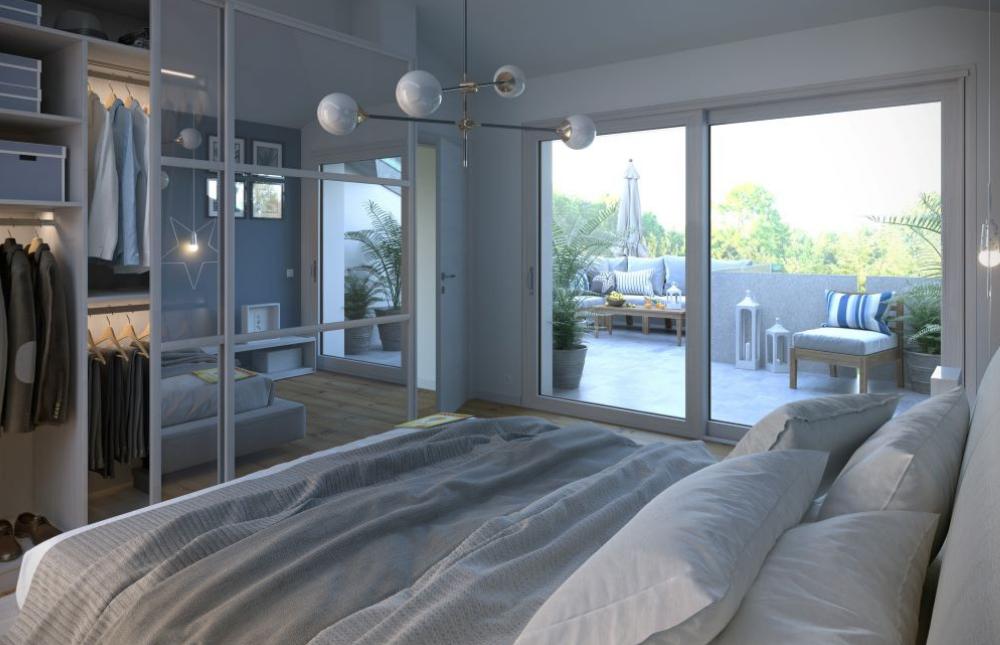 camera da letto attico 8