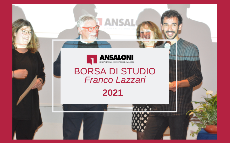 """Bando di concorso per l'assegnazione di un Premio di laurea intitolato in memoria di """"Franco Lazzari"""""""